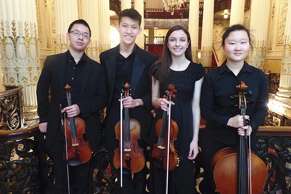 The Vivo Quartet | Pittsburgh Concert Society
